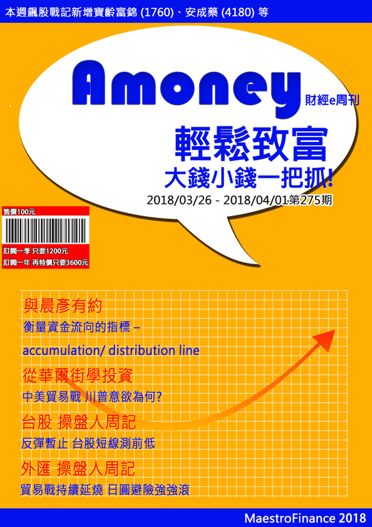 2018/3/19 Amoney財經e周刊 第275期
