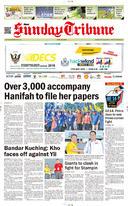 Sarawak Tribune 29 April 2018
