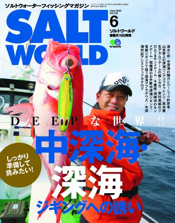 SALT WORLD 2020年6月號 Vol.142 【日文版】